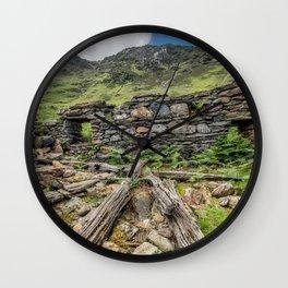 Watkin Path Ruin Wall Clock