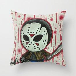 Baby Jason Throw Pillow
