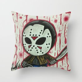 Baby Jason Throw Pillow
