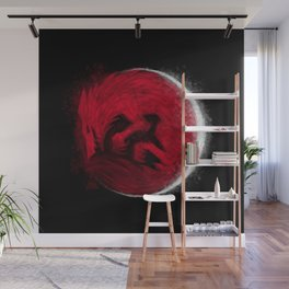 Super Blood Wolf Moon Wall Mural