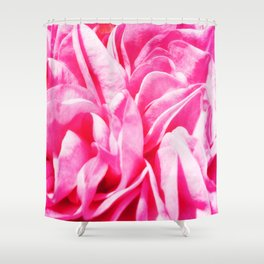A Touch of love - Pink Rose #1 Shower Curtain