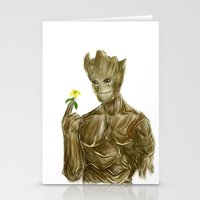 groot Stationery Cards featuring Groot by Augeo