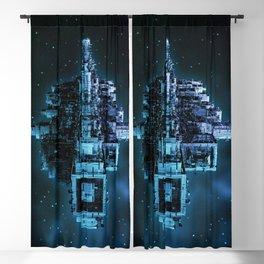 Leviathan BLUE / Keep on trucking Blackout Curtain