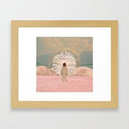 Hathor Framed Art Print