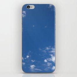 Blue skies ahead iPhone Skin