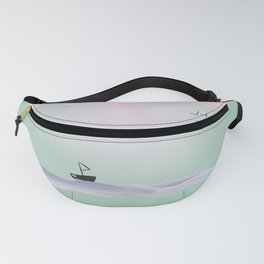 Pink Candy Cloud Fanny Pack