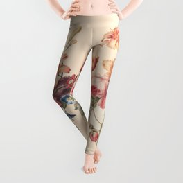 Vintage floral piece Leggings