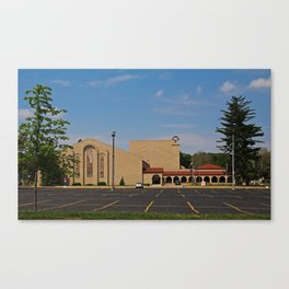 Lourdes University-  Franciscan Center in the Spring I Canvas Print