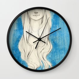 Long Hair Wall Clock