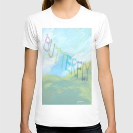 """"""" Butterfly In The Clearing """" T-shirt"""