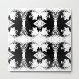 Black Series IV Metal Print