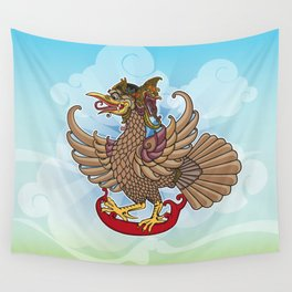 'Jatayu' or Eagle on the story of the Ramayana Wall Tapestry