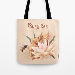 Full bloom | Busy bee Tote Bag