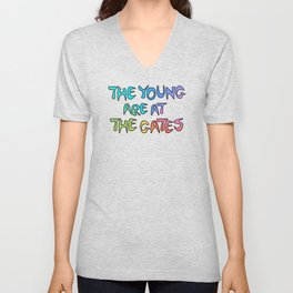 The Young Are At The Gates Unisex V-Neck