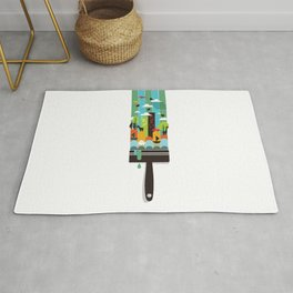 Paint your world Rug