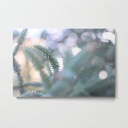 Trough leaves Metal Print