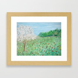 Peaceful Field Framed Art Print
