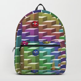 Gluons Backpack
