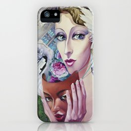 Lady Europe iPhone Case