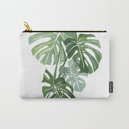 Monstera Leaves 3 Carry-All Pouch