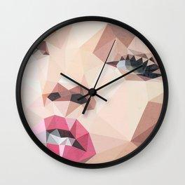 Miss Moss Square Wall Clock