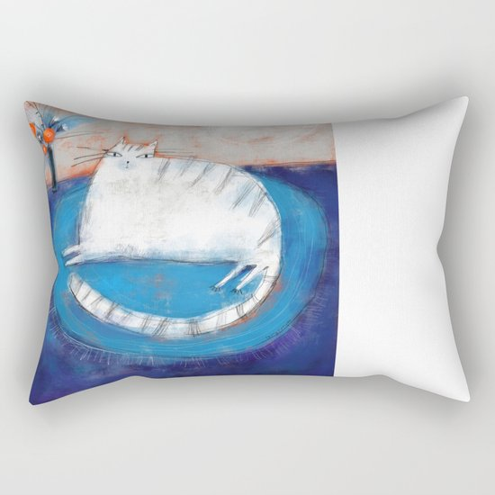 FRINGED RUG Rectangular Pillow