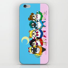 Sailor pugs iPhone Skin