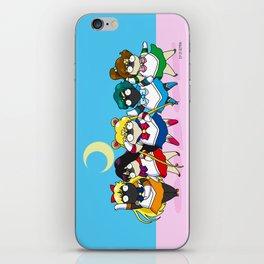 Sailor pugs iPhone Skin