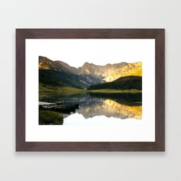 Its the little things, Piney Lake Colorado Framed Art Print