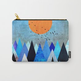 Blue Nature XXV Carry-All Pouch