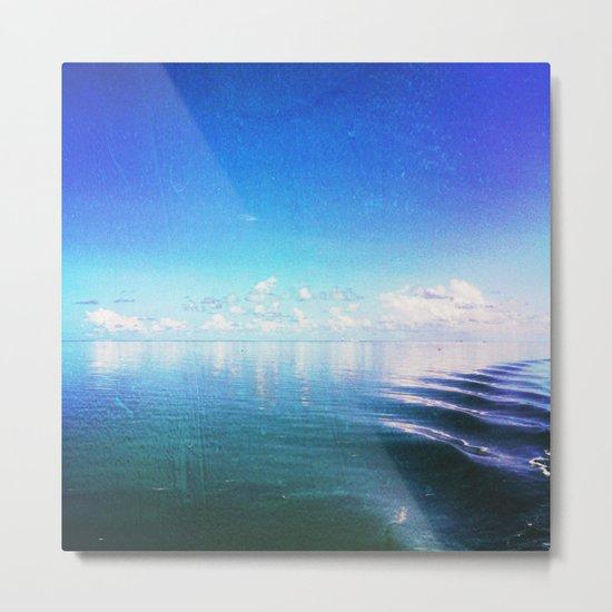 Nothing But Blue Skies Metal Print