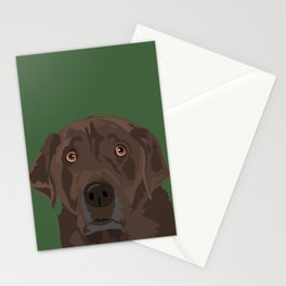 Mocha Stationery Cards