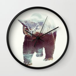 Owlbear Wall Clock