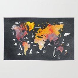 world map 101  #worldmap #map Rug