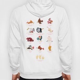 Chicken Yoga Hoody