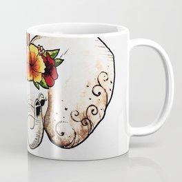 Elephant Flower Crown Coffee Mug