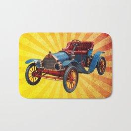 Vintage Car 01 Bath Mat