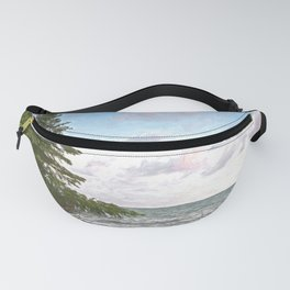 Huron leaning pine Fanny Pack