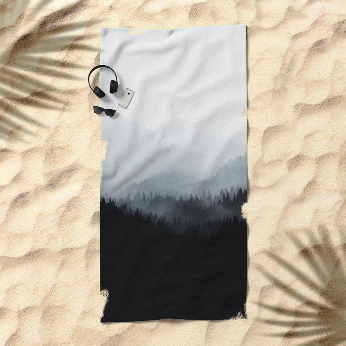 Woods 5Y BW Beach Towel