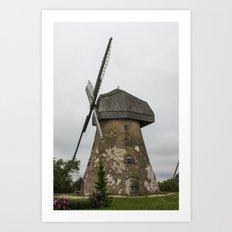 Mill Art Print