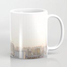 Peaceful Coffee Drinking Morning in Urban City Coffee Mug