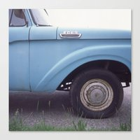 ford Canvas Prints featuring ford by auntie loren