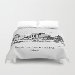 Buffalo By AM&A's 1987 Duvet Cover