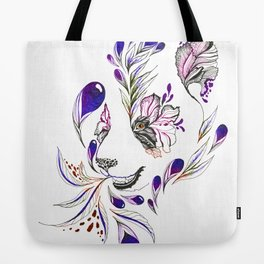 Hidden panda Tote Bag