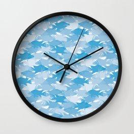 Jason's Blue Hogfish Camo Wall Clock