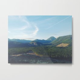 Mountain Vistas Metal Print