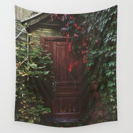 Secret Door Wall Tapestry