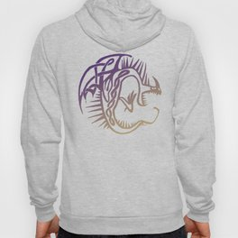 Deadly Nadder Purple and Gold Hoody