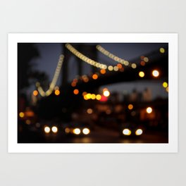 Brooklyn Bridge, NY Art Print