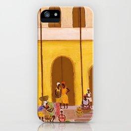 African American Masterpiece 'Haiti' by Ellis Wilson iPhone Case